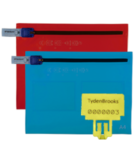a4 tydenpak flat, document security bag range for election security