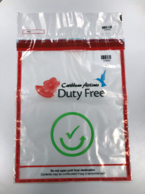 icao duty free stebs bag